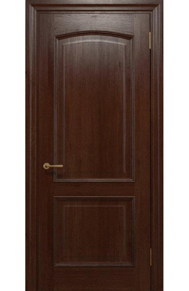 Двери Golden Elegante E-011 Статус Дорс шоколадный глухое
