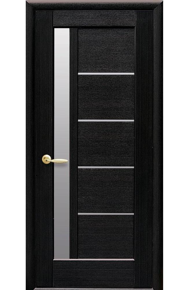 Двери Грета Новый Стиль венге делюкс стекло Сатин - Межкомнатные двери — фото №1