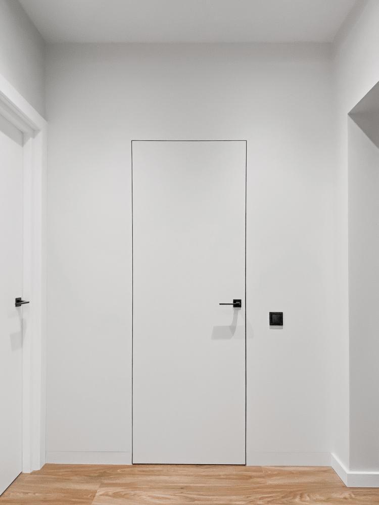 Двери скрытого монтажа под покраску Invisible