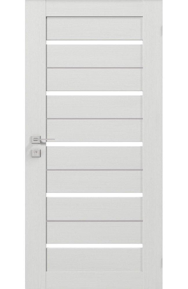 Двери со скрытой коробкой Родос Modern Lazio Invisible сосна крем полустекло