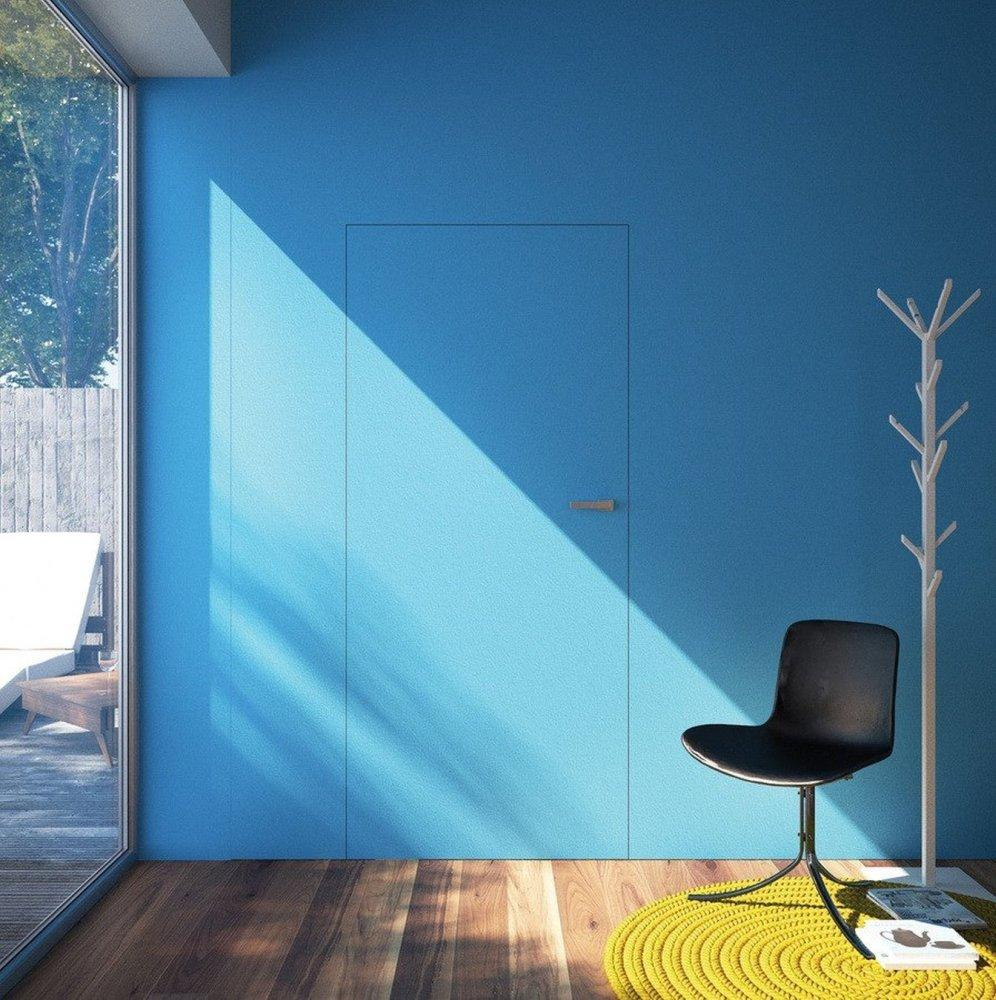 Двері прихованого монтажу Blue