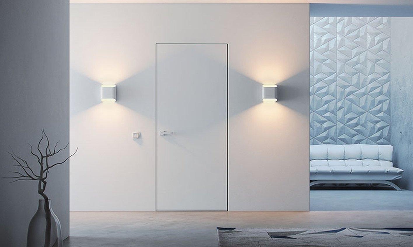 Двері прихованого монтажу Lights