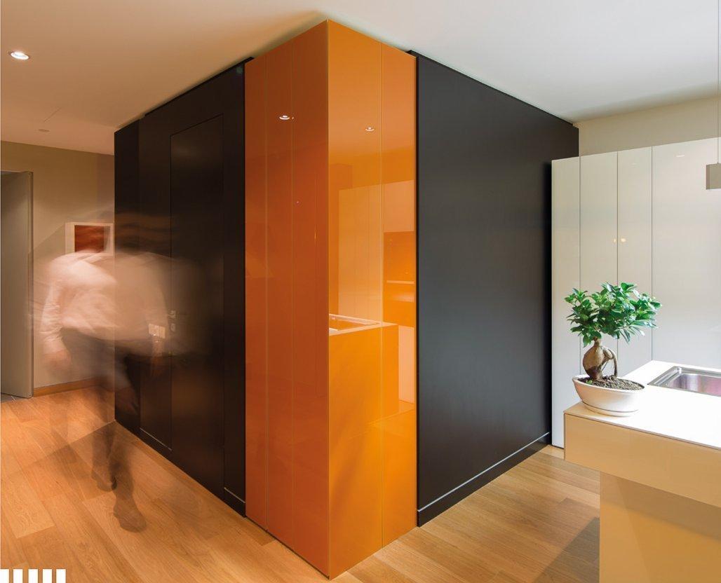 Двері прихованого монтажу Orange