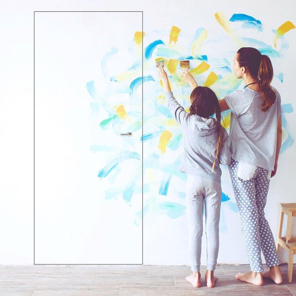 Двері прихованого монтажу Paint