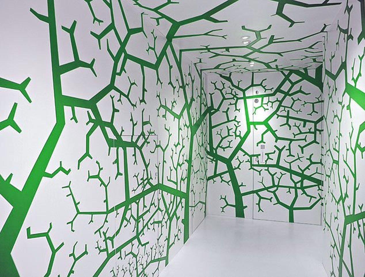Двері прихованого монтажу Trees