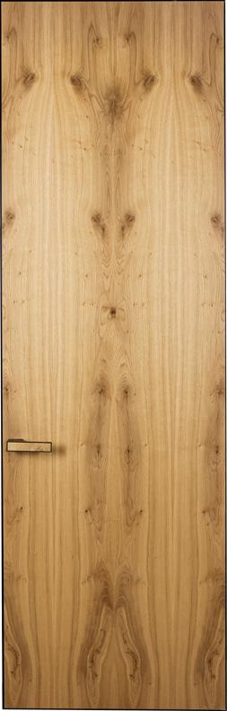 Двери скрытого монтажа шпон дуб дикий Invisible - Межкомнатные двери — фото №1