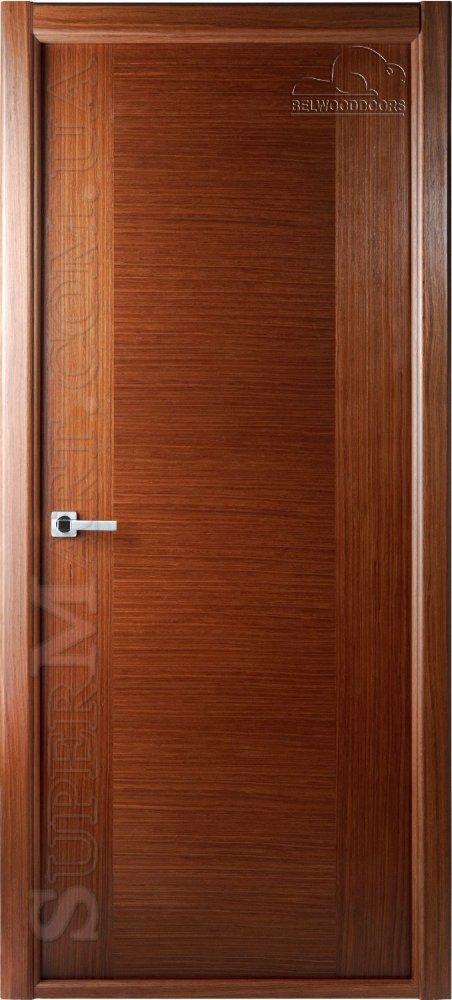 двери шпонированные входные глухие