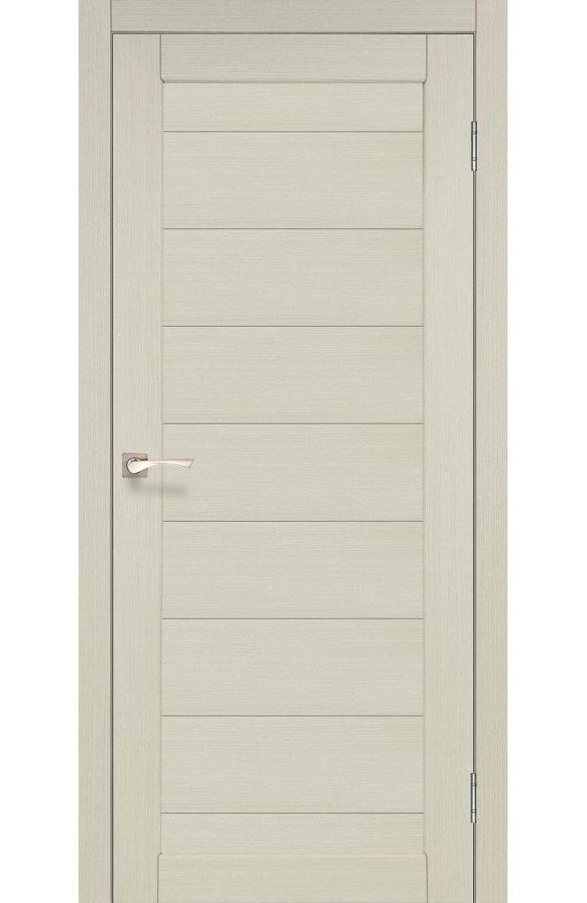 Двери Porto PR-05 Корфад беленый дуб глухое - Межкомнатные двери — фото №1