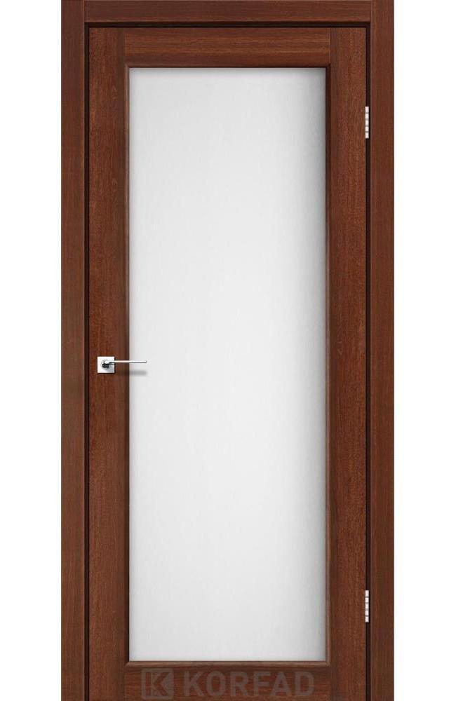 Двери Sanvito SV-01 Корфад орех стекло Сатин