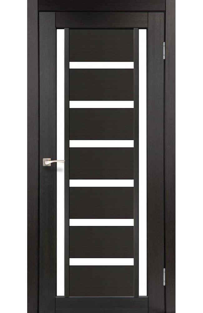 Двери Valentino VL-02 Корфад венге стекло Сатин