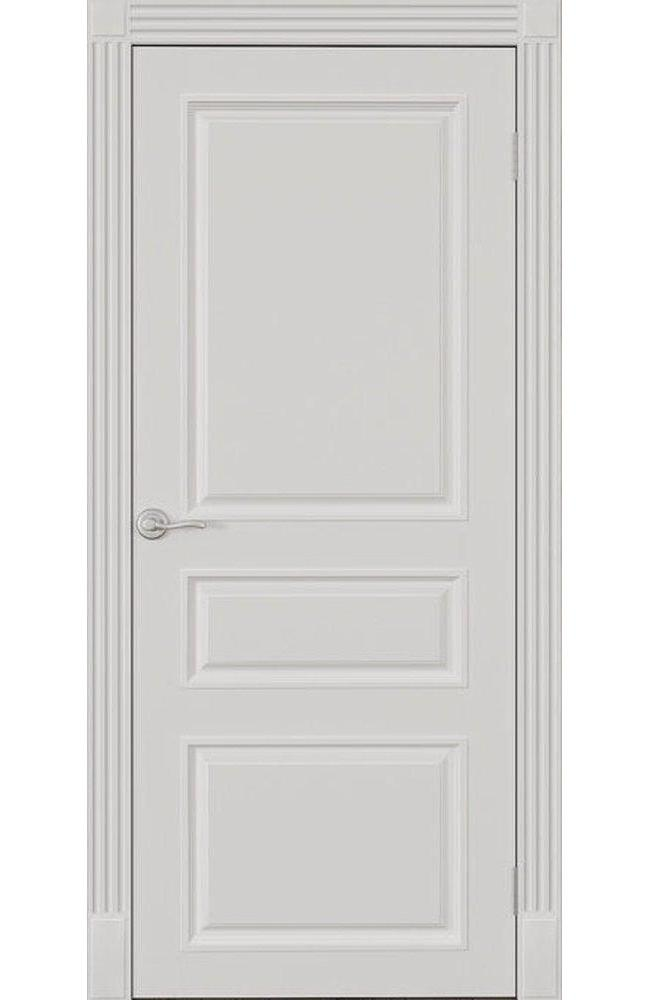 Двери Лондон ПГ Bravo Омега белый мат глухое