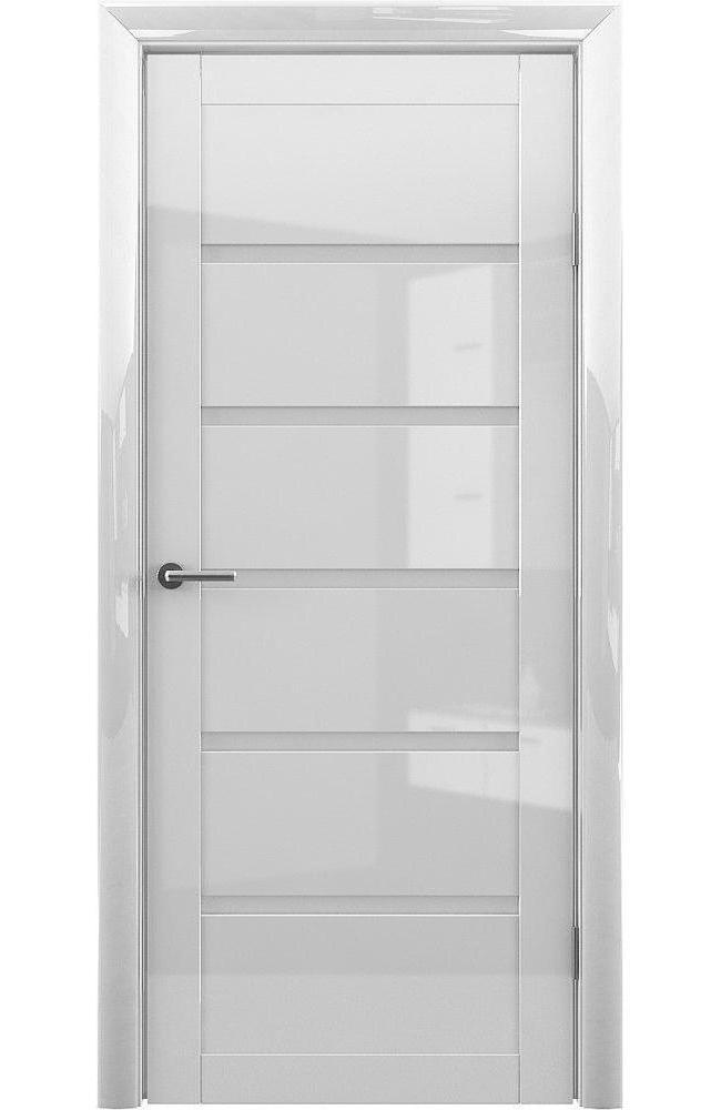 Двери Vena-Flora Альберо белый глянец стекло белое