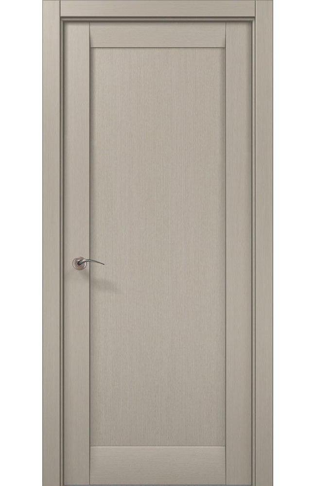 Двери ML-00Fc Папа Карло дуб крем глухое - Межкомнатные двери — фото №1