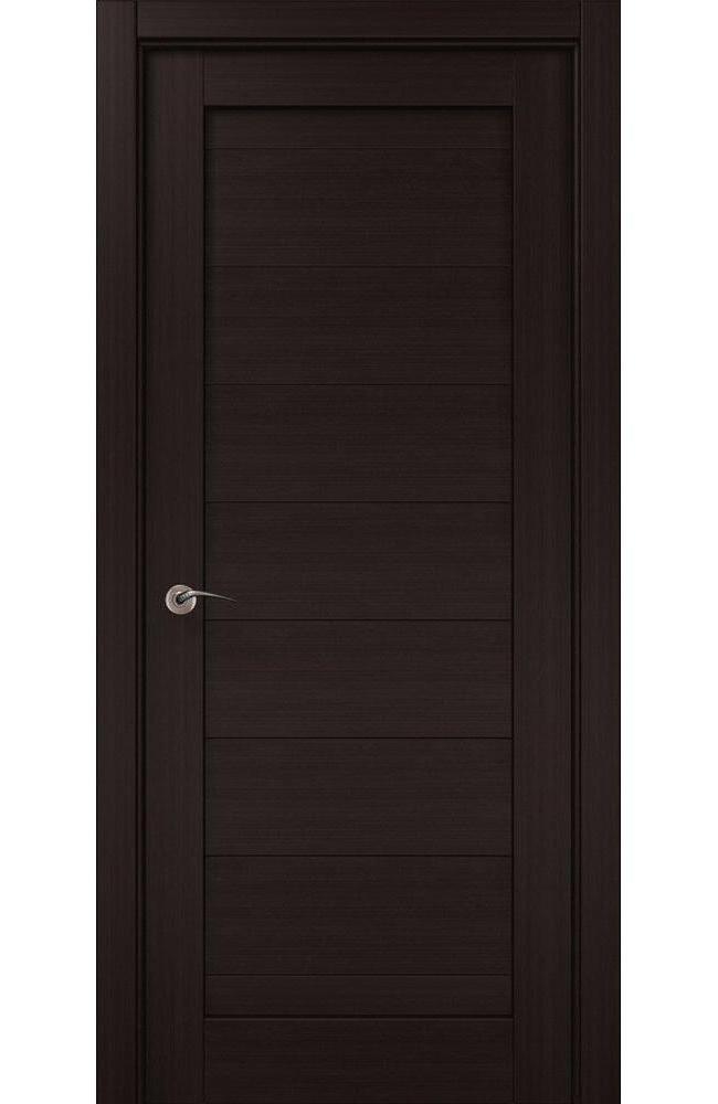 Двери ML-04c Папа Карло венге глухое - Межкомнатные двери — фото №1