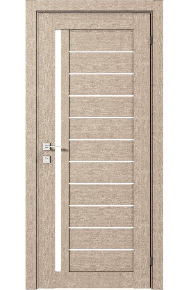 Двери Modern Bianca Родос крем полустекло - Межкомнатные двери — фото №1