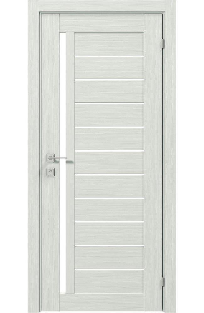 Двери Modern Bianca Родос сосна крем полустекло - Межкомнатные двери — фото №1
