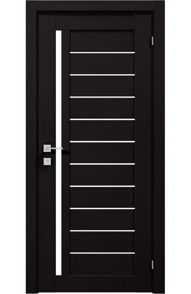 Двери Modern Bianca Родос венге шоколадный полустекло