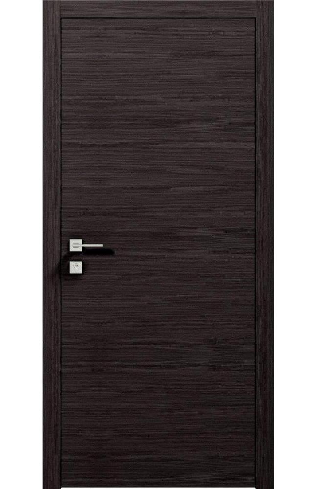 Двери Modern Flat Родос графит глухое - Межкомнатные двери — фото №1