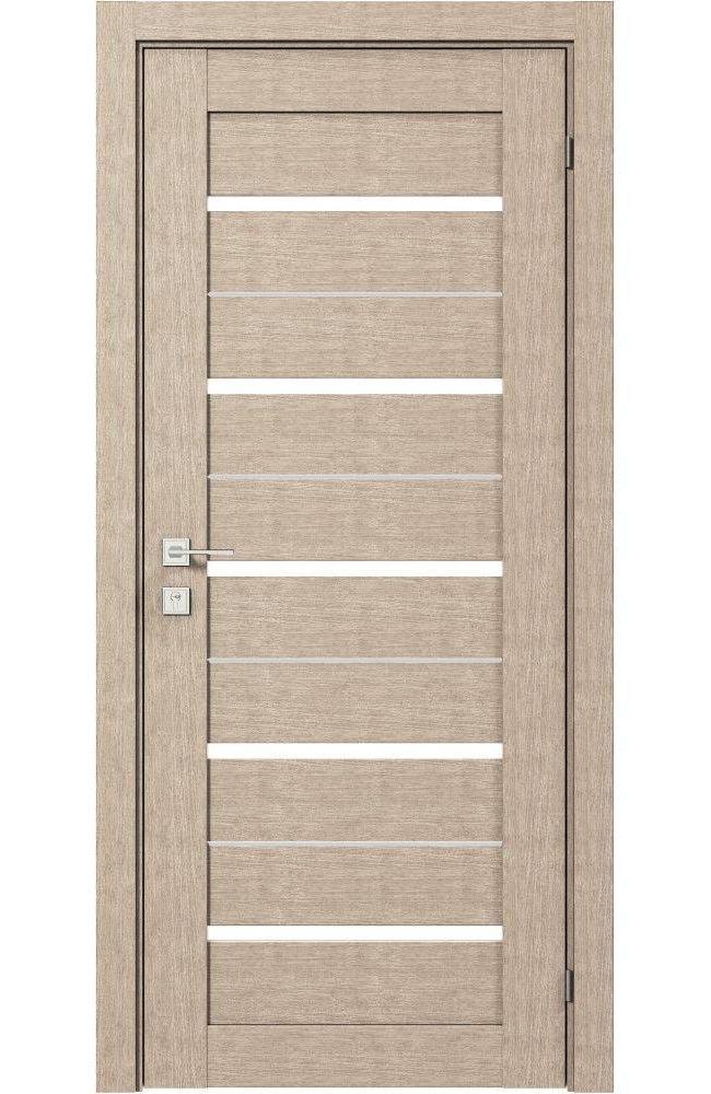 Двери Modern Lazio Родос крем полустекло