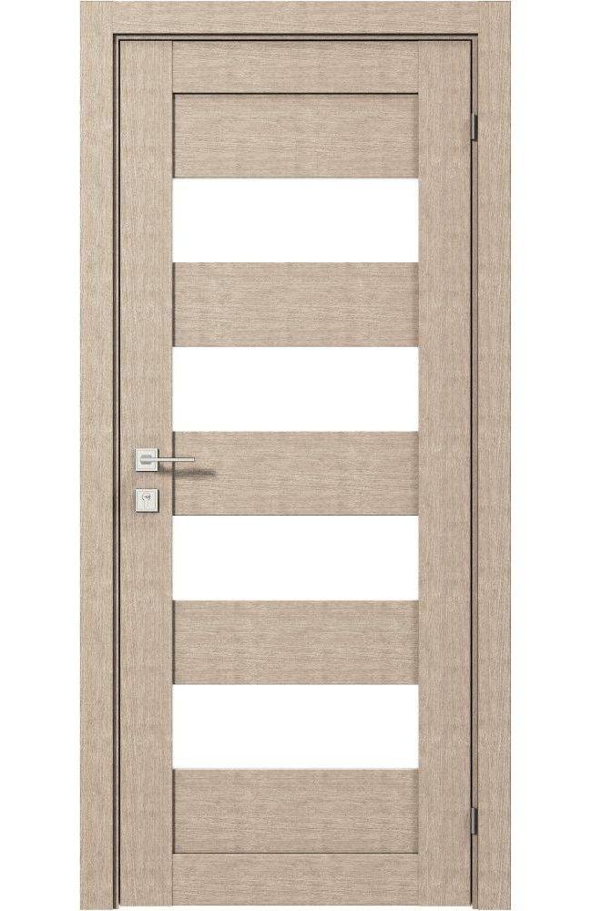Двери Modern Milano Родос крем полустекло - Межкомнатные двери — фото №1