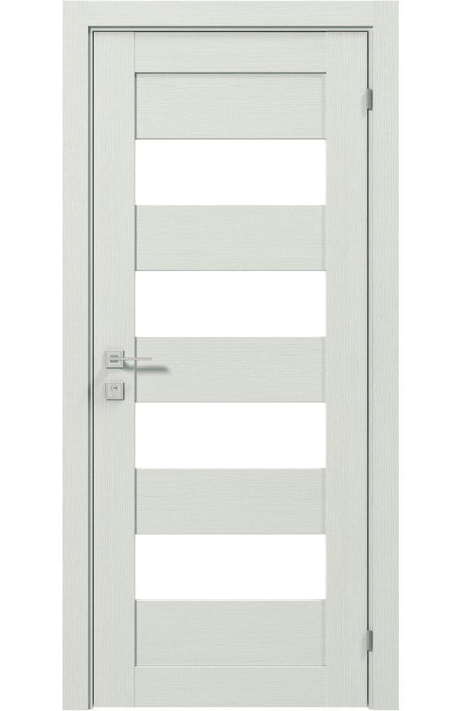 Двери Modern Milano Родос сосна крем полустекло