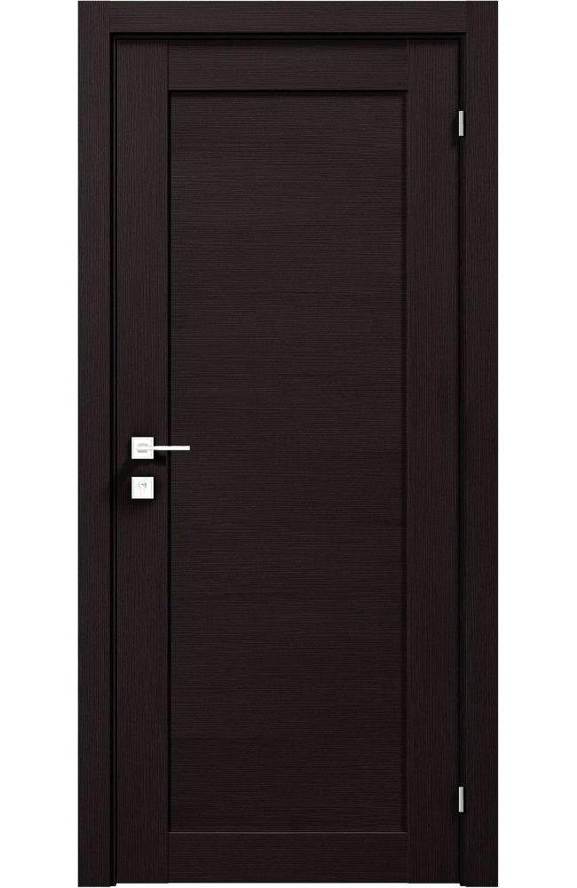 Двери Modern Polo Родос венге шоколадный глухое