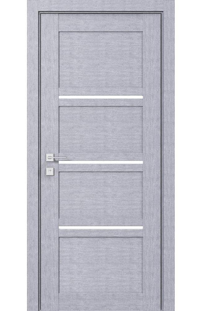Двери Modern Quadro Родос дуб сонома полустекло - Межкомнатные двери — фото №1
