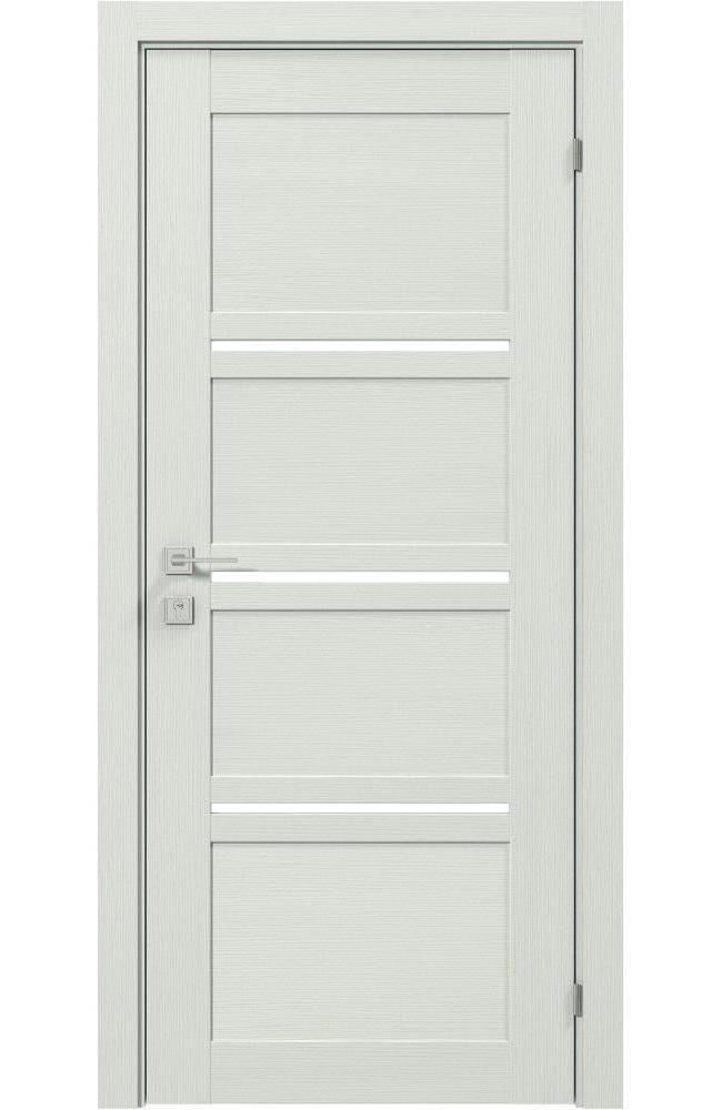 Двери Modern Quadro Родос сосна крем полустекло - Межкомнатные двери — фото №1