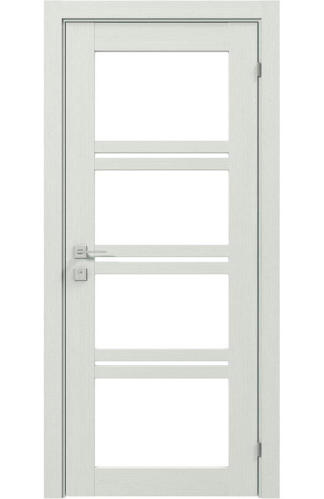Двери Modern Quadro Родос сосна крем со стеклом - Межкомнатные двери — фото №1