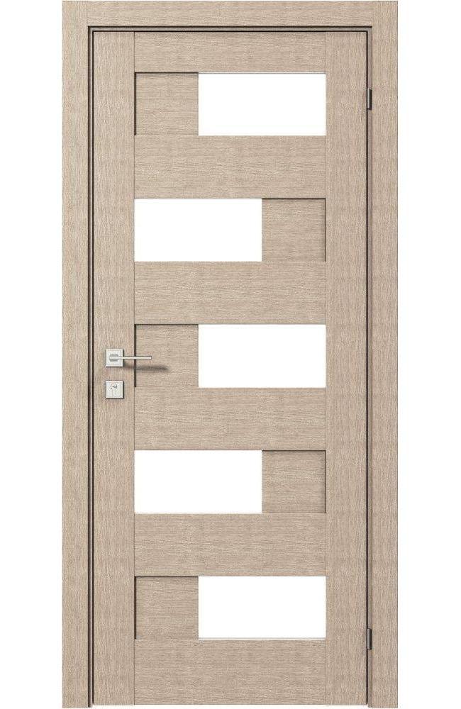 Двери Modern Verona Родос крем полустекло - Межкомнатные двери — фото №1