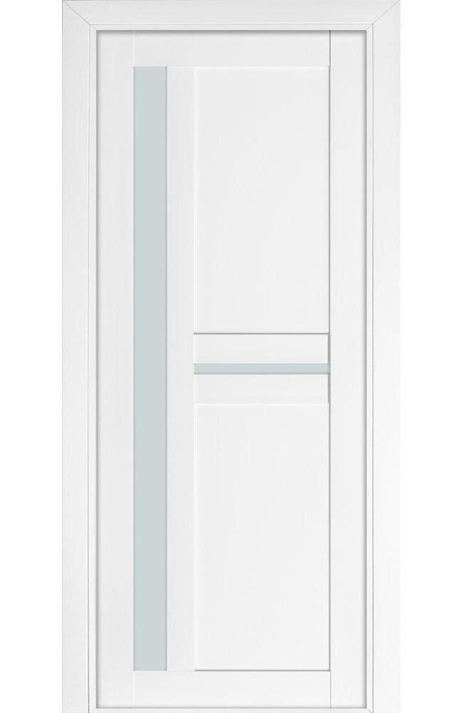 Двері Модель 106 NanoFLEX Термінус білий мат зі склом