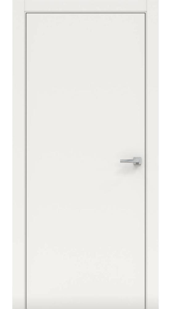 Двери Нордика 101 Дера белая эмаль глухое