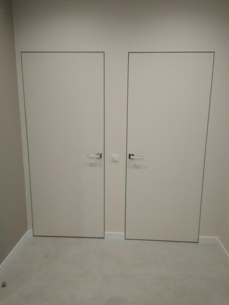 Двери скрытого монтажа под покраску Invisible - Межкомнатные двери — фото №10