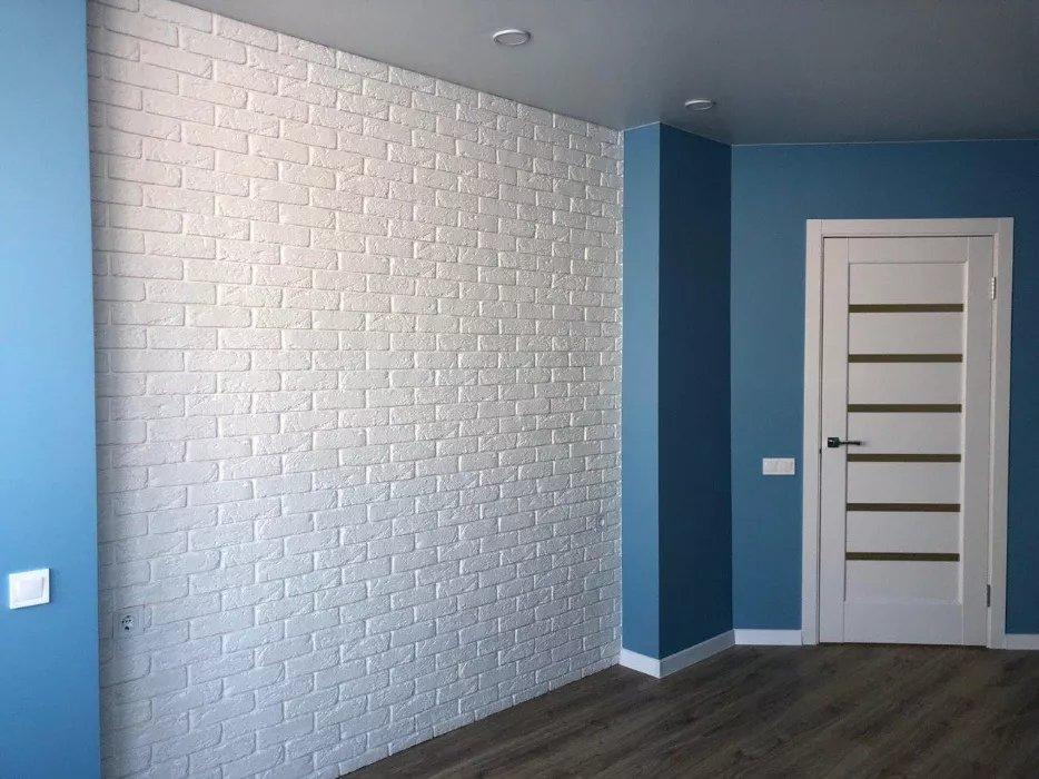 Двери Линнея Новый Стиль белый мат премиум стекло Сатин - Межкомнатные двери — фото №15