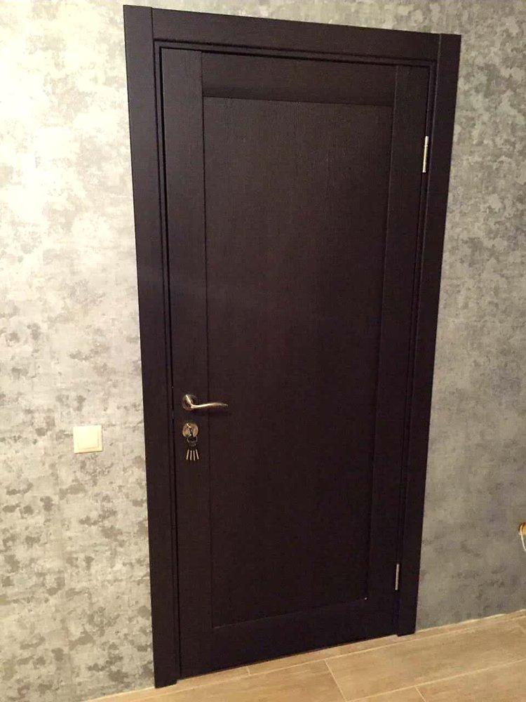 Двери ML-00Fc Папа Карло венге глухое - Межкомнатные двери — фото №1