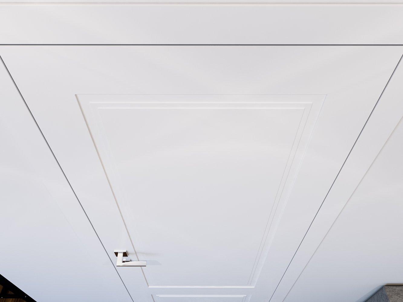 Двери Cortes Galant Родос белая эмаль глухое - Межкомнатные двери — фото №2