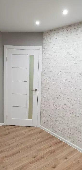 Двери Грета Новый Стиль белый мат премиум стекло Сатин - Межкомнатные двери — фото №2
