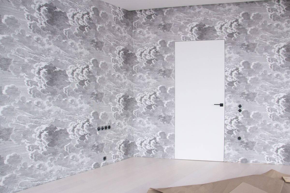 Двери скрытого монтажа белые с покраской эмалью ral 9016 Invisible - Межкомнатные двери — фото №2