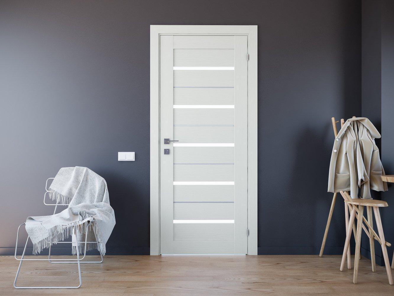 Двери Modern Lazio Родос сосна крем полустекло - Межкомнатные двери — фото №2