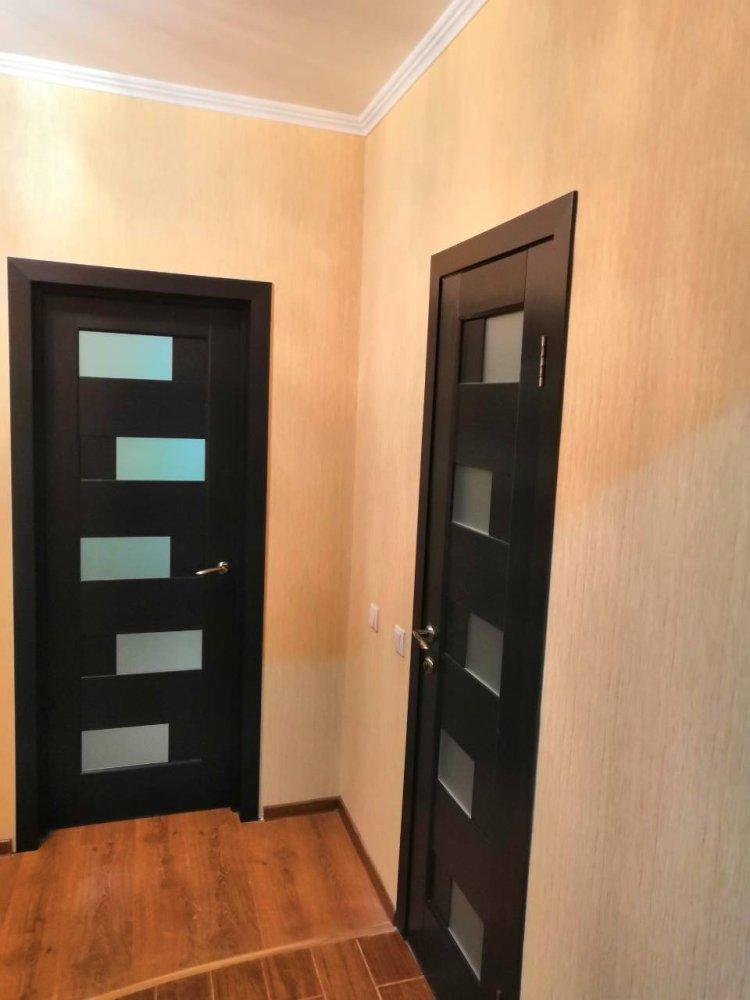 Двери Пиана Новый Стиль венге делюкс стекло Сатин - Межкомнатные двери — фото №2