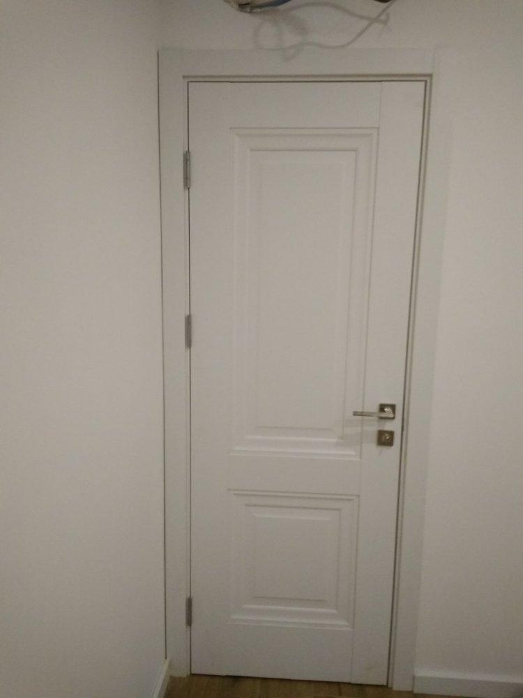 Двери Имидж Новый Стиль белый мат премиум глухое без молдинга - Межкомнатные двери — фото №3