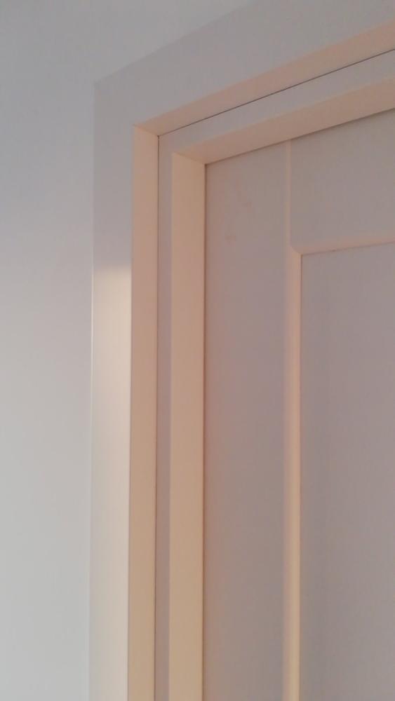 Двери Эпика Новый Стиль белый мат премиум глухое - Межкомнатные двери — фото №3