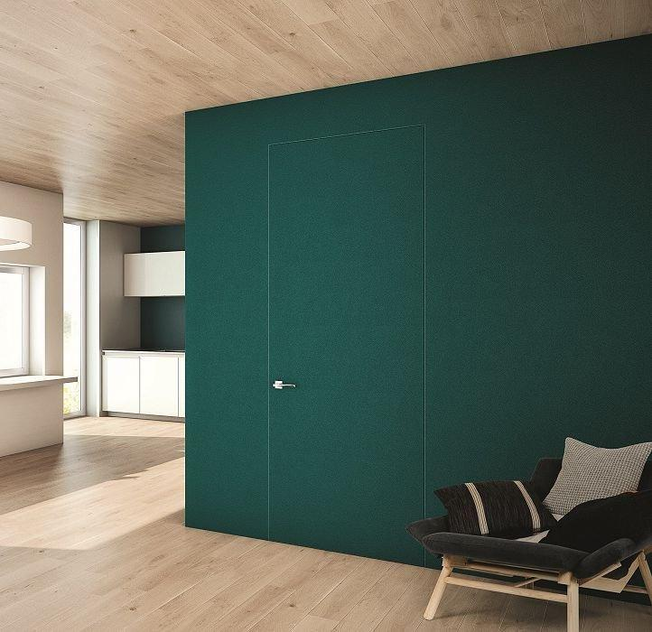 Двери скрытого монтажа под обои Invisible - Межкомнатные двери — фото №3