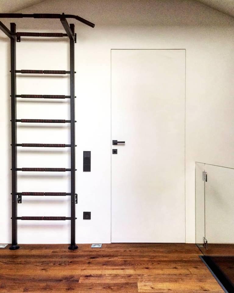 Двери скрытого монтажа белые с покраской эмалью ral 9016 Invisible - Межкомнатные двери — фото №3