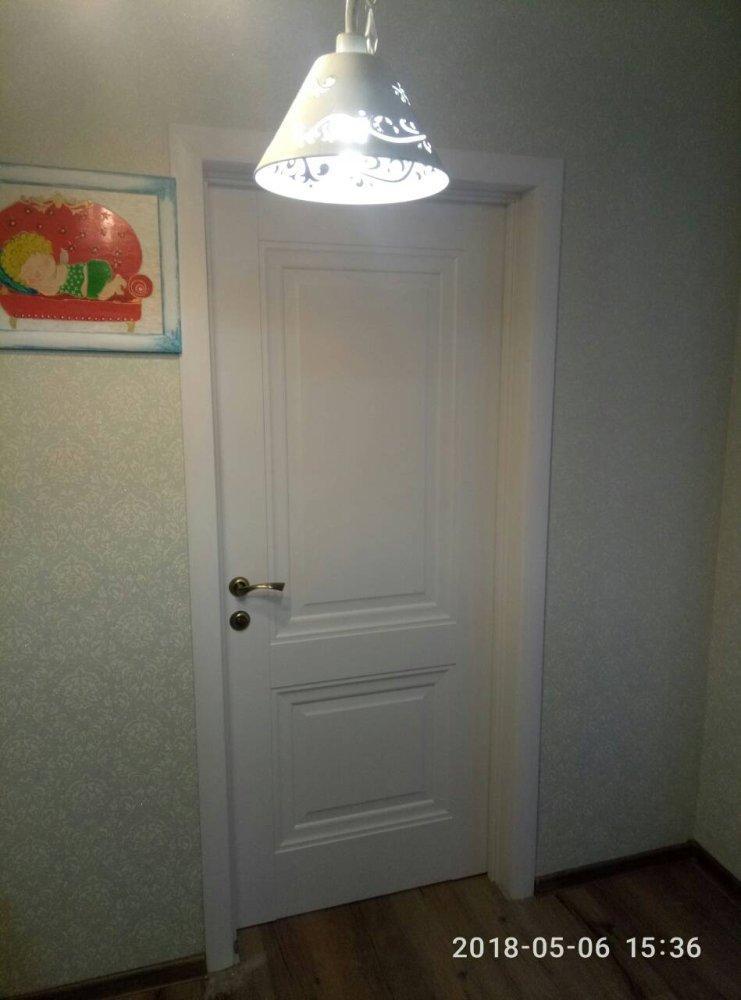 Двери Имидж Новый Стиль белый мат премиум глухое без молдинга - Межкомнатные двери — фото №4