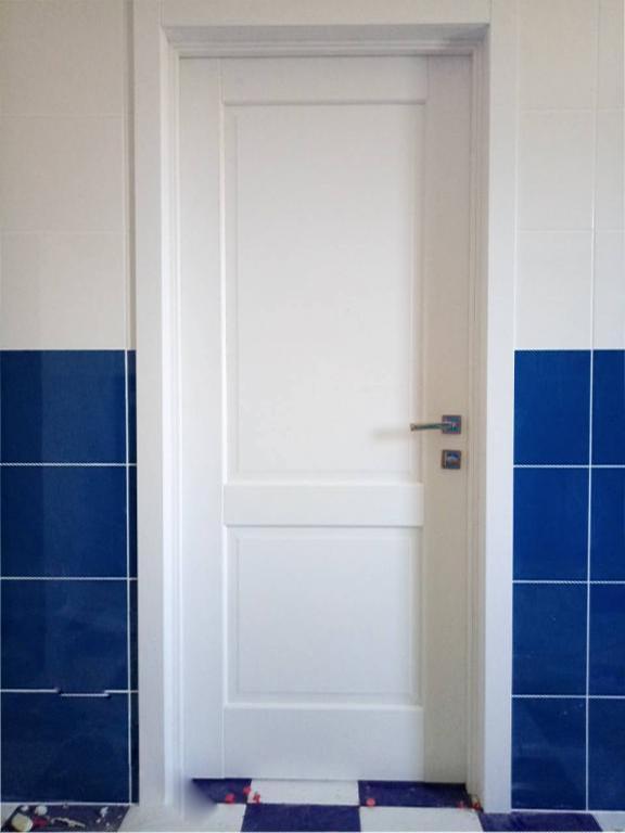 Двери Эпика Новый Стиль белый мат премиум глухое - Межкомнатные двери — фото №5