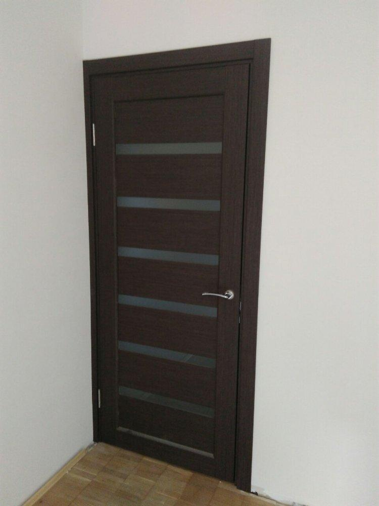 Двери Porto PR-01 Корфад венге стекло Сатин - Межкомнатные двери — фото №6