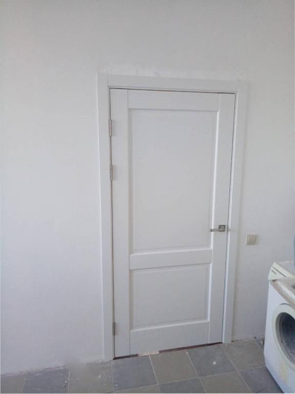 Двери Эпика Новый Стиль белый мат премиум глухое - Межкомнатные двери — фото №7