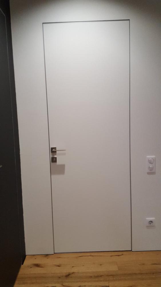 Двери скрытого монтажа под покраску Invisible - Межкомнатные двери — фото №7