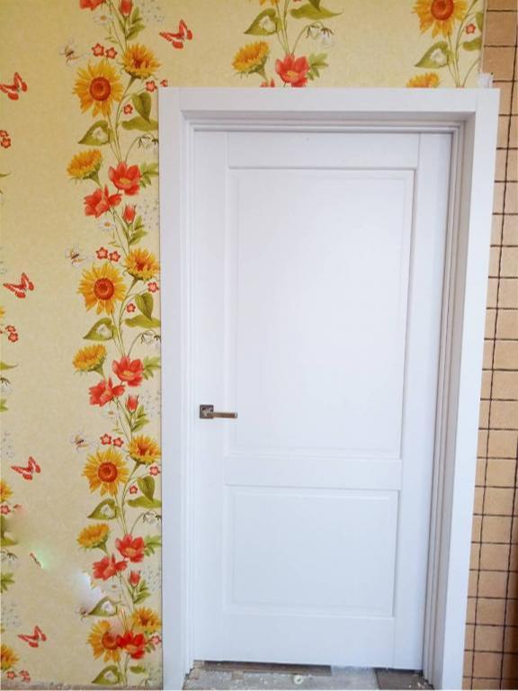 Двери Эпика Новый Стиль белый мат премиум глухое - Межкомнатные двери — фото №8